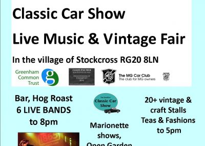 Poster for classic cars