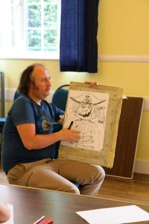 Stockfest Cartoon Workshop by Roy Burgess